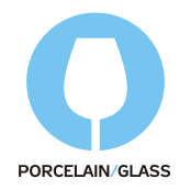 porcelain glass